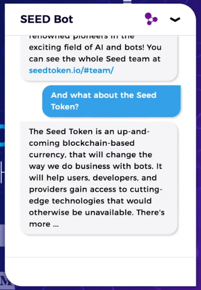 Seed Bot Demosu