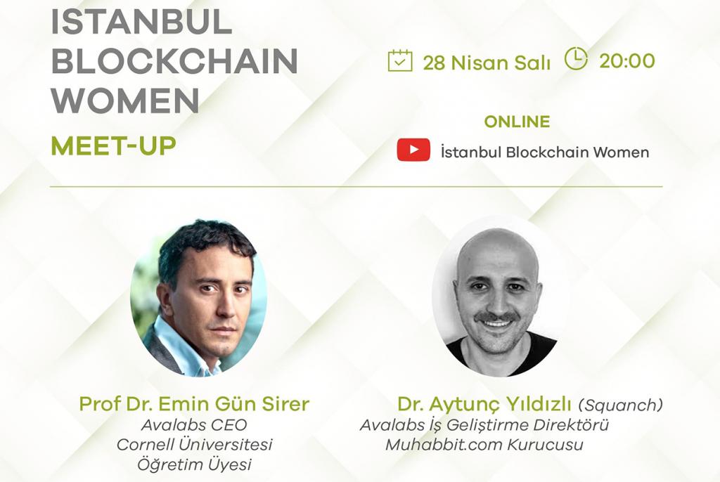 istanbul blockchain women platformu online etkinliklerine devam ediyor