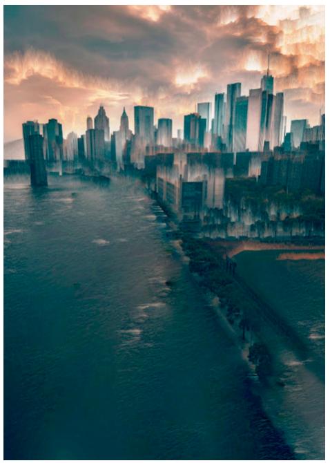 Water over Manhattan BitError