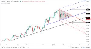 litecoinin dolar bazinda teknik analizi 2