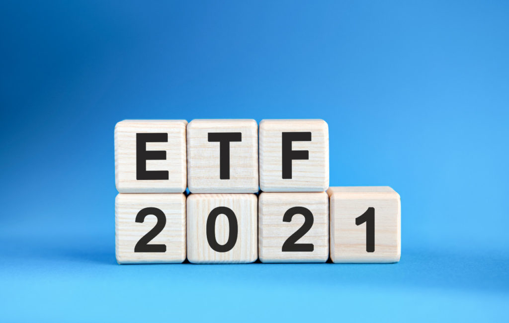 etf 2021 years wooden cubes blue background1