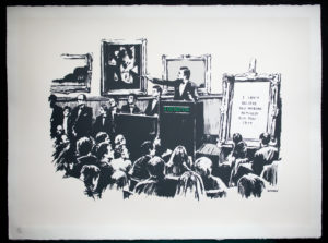 Banksy Moron NFT