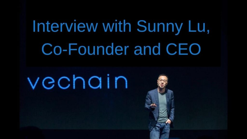 Interview with Sunny Lu VeChain