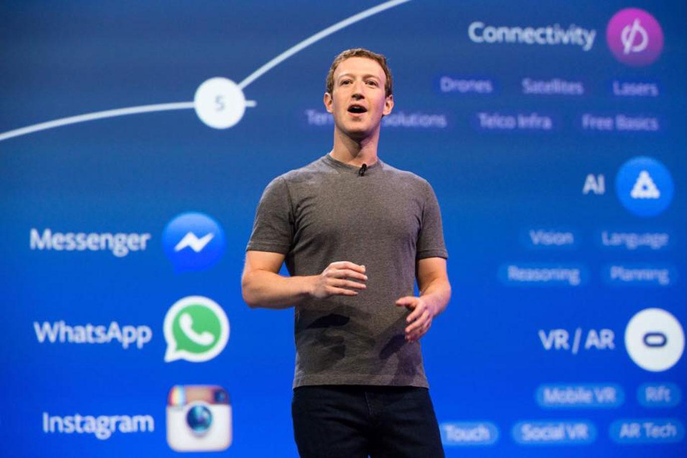 Facebook Diem Mark Zuckerberk