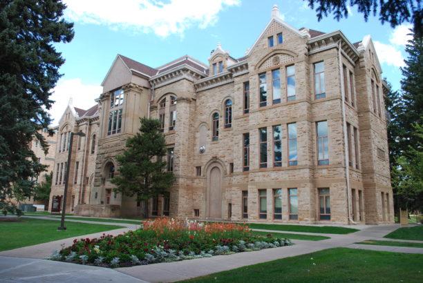 Old Main University of Wyoming September 2012