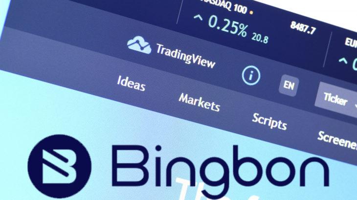 bingbon artik tradingview uzerinden kullanilabilir